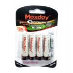 Επαναφορτιζόμενη μπαταρία AA MAXDAY Νi-MH 1,2V - 4700mAh - 4 τεμάχια