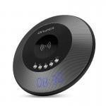 Φορητό Ηχείο Bluetooth 10W Ρολόι - Ξυπνητήρι με Βάση Ασύρματης Φόρτισης για Κινητά Awei Y290
