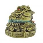 Βάτραχος Αφθονίας και Πλούτου σε πλίνθο 9Χ9 cm