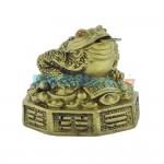Βάτραχος Αφθονίας και Πλούτου σε πλίνθο 7.5x7.5 cm