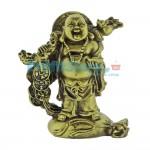 Βούδας για Αφθονία Χρημάτων και Καλή Υγεία 13.8cm