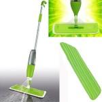 Σφουγγαρίστρα Παρκετέζα με Σπρέι Ψεκασμού και 2 Πανάκια με Μικροίνες - Επαναστατική Σκούπα Spray Mop