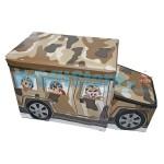 Κουτί αποθήκευσης παιχνιδιών - Κάθισμα - Σχολικό Λεωφορείο SWAT