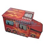 Κουτί αποθήκευσης παιχνιδιών - Κάθισμα - Σχολικό Λεωφορείο FLAMES