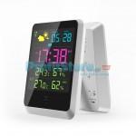 Ασύρματος Μετεωρολογικός Σταθμός με Ρολόι Ξυπνητήρι Haptime YGH-391