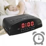 Επιτραπέζιο Ρολόι Ξυπνητήρι & Ραδιόφωνο 3 σε 1 - AM/AF Clock Alarm Radio VST-905