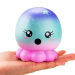 Παιχνίδι Squishy Ανακούφισης Στρες Jumbo Squishies Antistress Toys - Starry Sky Octopus