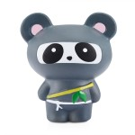 Παιχνίδι Squishy Ανακούφισης Στρες Jumbo Squishies Antistress Toys - Ninja Grey Panda