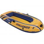 Φουσκωτή Βάρκα Challenger 2 Set- INTEX 68367