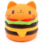 Παιχνίδι Squishy Ανακούφισης Στρες Jumbo Squishies Antistress Toys - Cat Hamburger