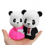Παιχνίδι Squishy Ανακούφισης Στρες Jumbo Squishies Antistress Toys - Wedding Panda