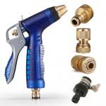Μεταλλικό Πιστόλι Ψεκασμού Νερού με Ρακόρ Σύνδεσης - Garden Hose Nozzle