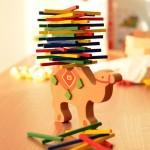 Ξύλινο παιχνίδι ισορροπίας Καμήλα - Balance Beam