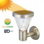 Αδιάβροχο Ηλιακό Solar Φωτιστικό Τοίχου LED με Αισθητήρα Νυκτός