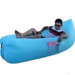 Φουσκωτό Στρώμα & Κάθισμα Ξαπλώστρα Lazy Bag Με Πλαινές Τσέπες- Inflatable Air Sofa Premium Pockett 260
