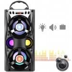 Ηχοσύστημα Bluetooth με LED Φωτισμό 12W USB/SD/AUX/FM & Οθόνη LED Multimedia Player MS-26XΒΤ