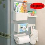 Σετ Μαγνητικές Θήκες Αποθήκευσης για την Κουζίνα 5 σε 1 - Magnetic Shelves Series 5 in 1