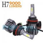 Φώτα Αυτοκινήτου - Λάμπες LED H7 9000LM COB