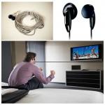 Ενσύρματα Ακουστικά Τηλεόρασης 5 Μέτρα - 5m Cord Length for TV