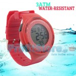 Σπορ Ψηφιακό Ρολόι 3ΑΤΜ Αδιάβροχο με Ξυπνητήρι, Χρονόμετρο & Φωτισμός LED - Sport Watch Water Resistant