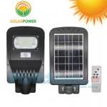 Αδιάβροχο Ηλιακό Μεγάλο Φωτιστικό 60 LED με Ανίχνευση Κίνησης, Αισθητήρα Φωτός & Τηλεκοντρόλ