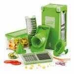 Σετ Πολυκόφτης Φρούτων & Λαχανικών με 4 Επιφάνειες Κοπής - Magic Cube Dicer