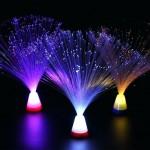 Διακοσμητικό Πολύχρωμο Φως με Οπτικές Ίνες - Colorful Fiber Optic Party with Color Changing Base