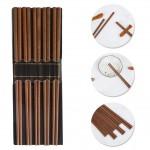 Σετ Επαναχρησιμοποιούμενα Ξυλάκια για Κινέζικο και Σούσι 10 pairs - Bamboo Chopstick