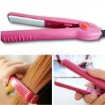 Μίνι Ισιωτική Μαλλιών, Πρέσσα Ταξιδιού - Mini Hair Straightener