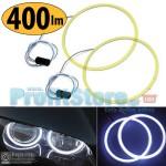 Αδιάβροχα Στρογγυλά Δαχτυλίδια xSlim 400lm Φώτα Ημέρας LED Διακόσμησης Αυτοκινήτου Angel Eyes & για Φώτα Ομίχλης - Σετ 2 τμχ