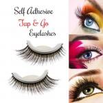 Αυτοκόλλητες Ψεύτικες Βλεφαρίδες Σιλικόνης για Χρήση Χωρίς Κόλλα - Reusable No Glue Self-Adhesive Silicone Eyelashes