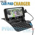 Αντιολισθητική Εύκαμπτη Βάση Στήριξης & Φόρτισης 2 σε 1 Αυτοκινήτου Android & iPhone Smartphone Κινητά, GPS Non-Slip Flexible Car Holder Charger OEM