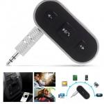 Μετατροπέας Ενσύρματων Συσκευών σε Ασύρματες Bluetooth για Αναπαραγωγή Μουσικής, Ανοιχτή Συνομιλία & Ακρόαση Handsfree AUX 3.5mm BT-500 Car Receiver