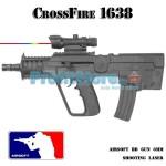 Αεροβόλο Όπλο Μοντελισμού CrossFire 1638 Assault Rifle
