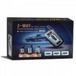 Πλήρες Σύστημα Συναγερμού Αυτοκινήτου με Σειρήνα, OEM 2 Way Car Alarm System 3000M