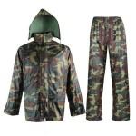 Αδιάβροχη Αντιανεμική Φόρμα Αντοχής Camouflage για την Μηχανή ή Αγροτικές Δουλειές 14936