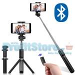 Ασύρματο Bluetooth Πτυσσόμενο Μπαστούνι Κινητού 68cm & Τρίποδο για selfie Φωτογραφίες με Χειριστήριο - Wirelless Tripod Selfie Stick