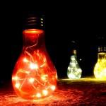 Κρεμαστός LED Λαμπτήρας με Αντάπτορα - Led Big Christmas Lamp - Blue, White, Rose, Warm