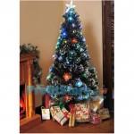 Εντυπωσιακό Χριστουγεννιάτικο Δέντρο Οπτικής ίνας LED 120εκ. Snow Frosted