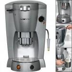 Καφετιέρα μηχανή Espresso Clatronic 1300W με διάφανο αφαιρούμενο δοχείο νερού και υποδοχή για κάψουλες, KAP 3015