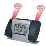 Ρολόι με 2 Προτζέκτορες - Θερμόμετρο Χώρου και Ημερολόγιο