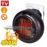 Νέα Μίνι Σόμπα Πρίζας - Αερόθερμο 900Watt Handy Heater με Θερμοστάτη & Χρονοδιακόπτη