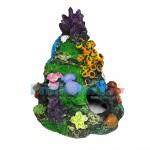 Ρεαλιστικό Διακοσμητικό Κοράλι  για Ενυδρεία - Aquarium Coral 17688 14x15cm