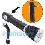 Επαναφορτιζόμενος Διπλός Φακός & Φωτιστικό LED 400lm - Απευθείας Σύνδεση Φόρτιση σε Πρίζα