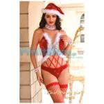 Χριστουγεννιάτικη Γυναικεία Στολή Αη Βασίλη 6832 CHRISTMAS GIRLS