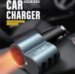 Φορτιστής Αναπτήρα Αυτοκινήτου 3 USB - LDNIO Car Charger Speed Universal