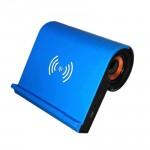 Ασύρματος Φορτιστής & Bluetooth Ηχείο - Φορητό Ηχειάκι - Qi Wireless Charging Speaker