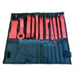 Εργαλεία Αφαίρεσης Ταπετσαρίας & Εσωτερικών Πλαστικών Ταμπλό Αυτοκινήτου Σετ 11 τμχ με Θήκη