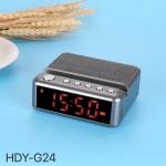 Ασύρματο Ηχείο Bluetooth Με Ρολόι-Ξυπνητήρι, Handsfree, Mp3, Tf Card, Fm, Usb, Aux