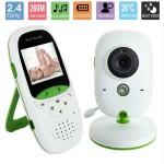Ασύρματη Ενδοεπικοινωνία Μωρού 2″ με Νανουρίσματα και Κάμερα Νυχτός - Wireless Baby Monitor